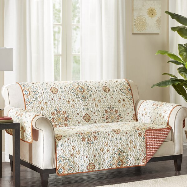 Magnificent Shabby Chic Loveseat Slipcover Wayfair Gmtry Best Dining Table And Chair Ideas Images Gmtryco