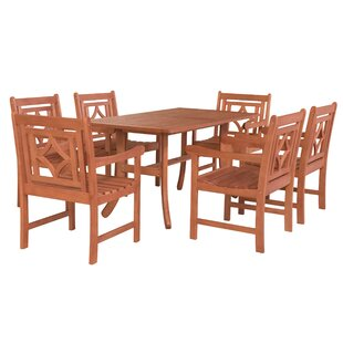 Stephenie 7 Piece Patio Dining Set