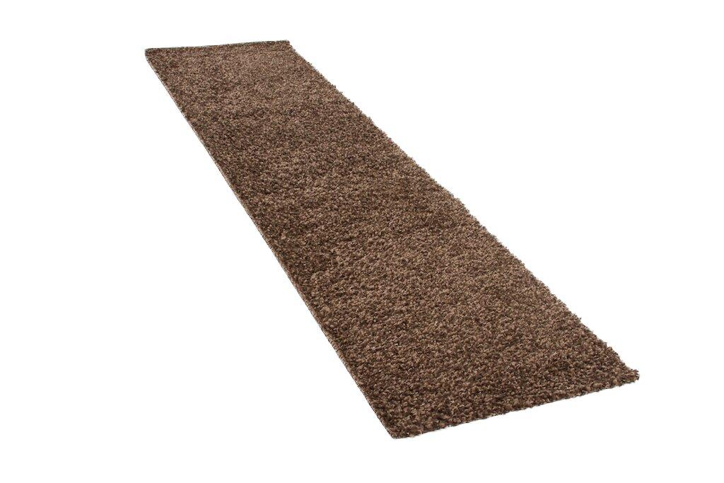 longweave teppich shaggy lueben in braun. Black Bedroom Furniture Sets. Home Design Ideas