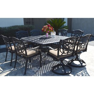 Nola 9 Piece Dining Set with Cushions