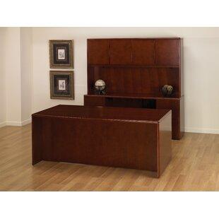 Jusino 3-Piece Standard Desk Office Suite by Latitude Run Wonderful