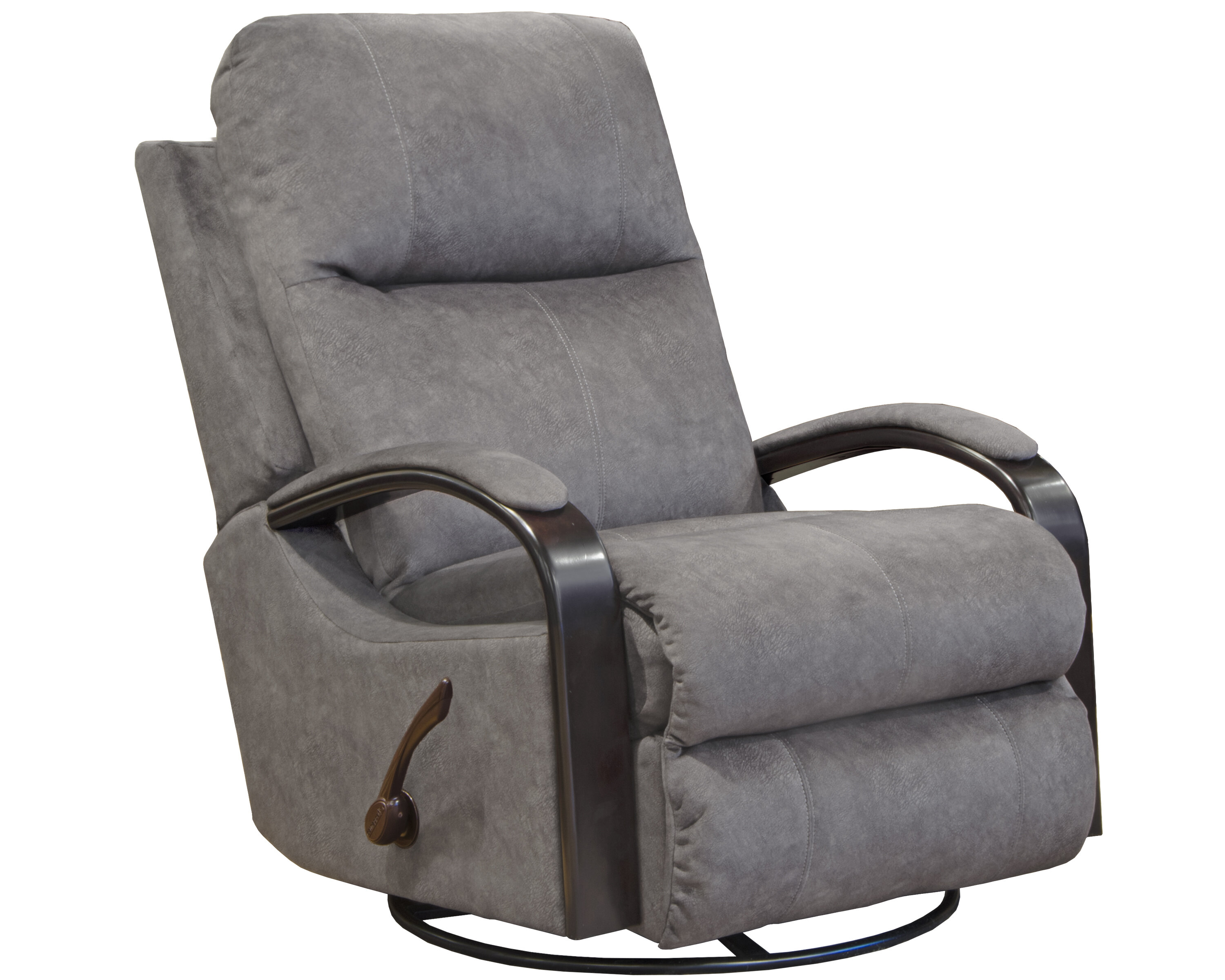 Niles Manual Swivel Glider Recliner on