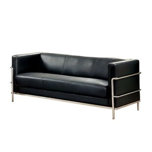 Canup Leather Sofa By Orren Ellis