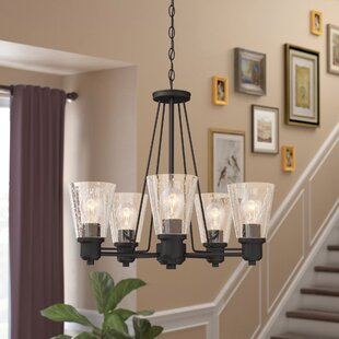 Selinsgrove 5-Light Shaded Chandelier