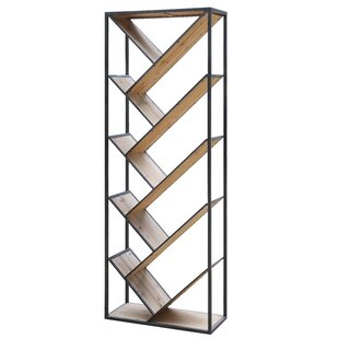 James Angled Etagere Bookcase