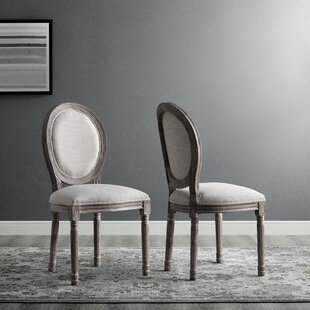 Alina Upholstered Dining Chair (Set of 2) Ophelia & Co.