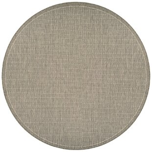 Zachary Champagne/Taupe Indoor/Outdoor Area Rug by Andover Mills
