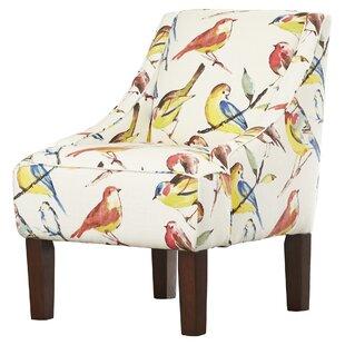 Goldhorn Slipper Chair by Alcott Hill
