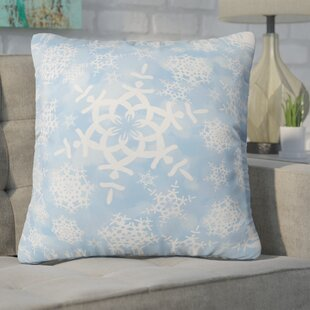 Cruce Snow Flurries Throw Pillow