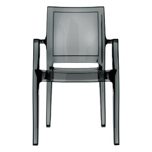 Harvill Stacking Arm chair Set of 4 by Mercer41