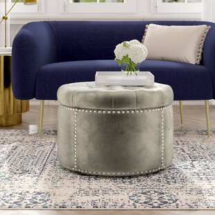 Kynlee Tufted Cocktail Ottoman by Grovelane Teen