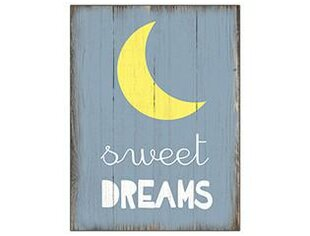 Sweet Dream Wooden Sign Wall Décor