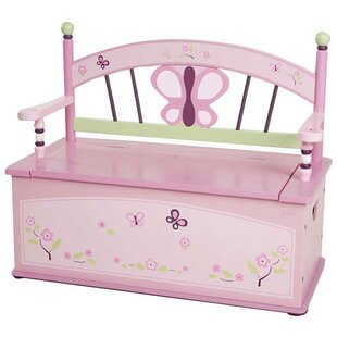 Bargain Wildkin Kids Sugar Plum Bench Seat with Storage By Wildkin