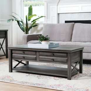 Swart Coffee Table with Storage