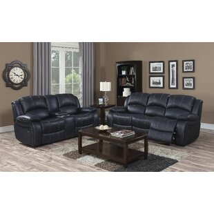 Emilie Reclining Configurable Living Room Set