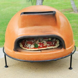 rustic liso clay pizza oven