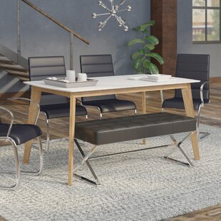 Hummer Retro Modern Dining Table Mercury Row