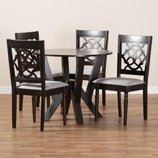 Rentschler 5  Piece Dining Set Set of 5