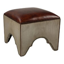Elegant Arches Accent Stool by Sarreid Ltd