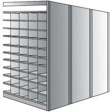 Deep Bin 87 H 11 Shelf Shelving Unit Add-on by Hallowell