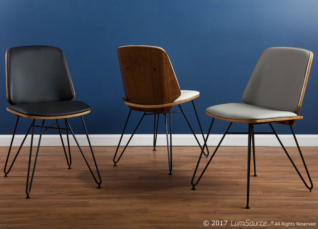 mid century dining chair. Calline Creek Mid-Century Modern Upholstered Dining Chair Mid Century