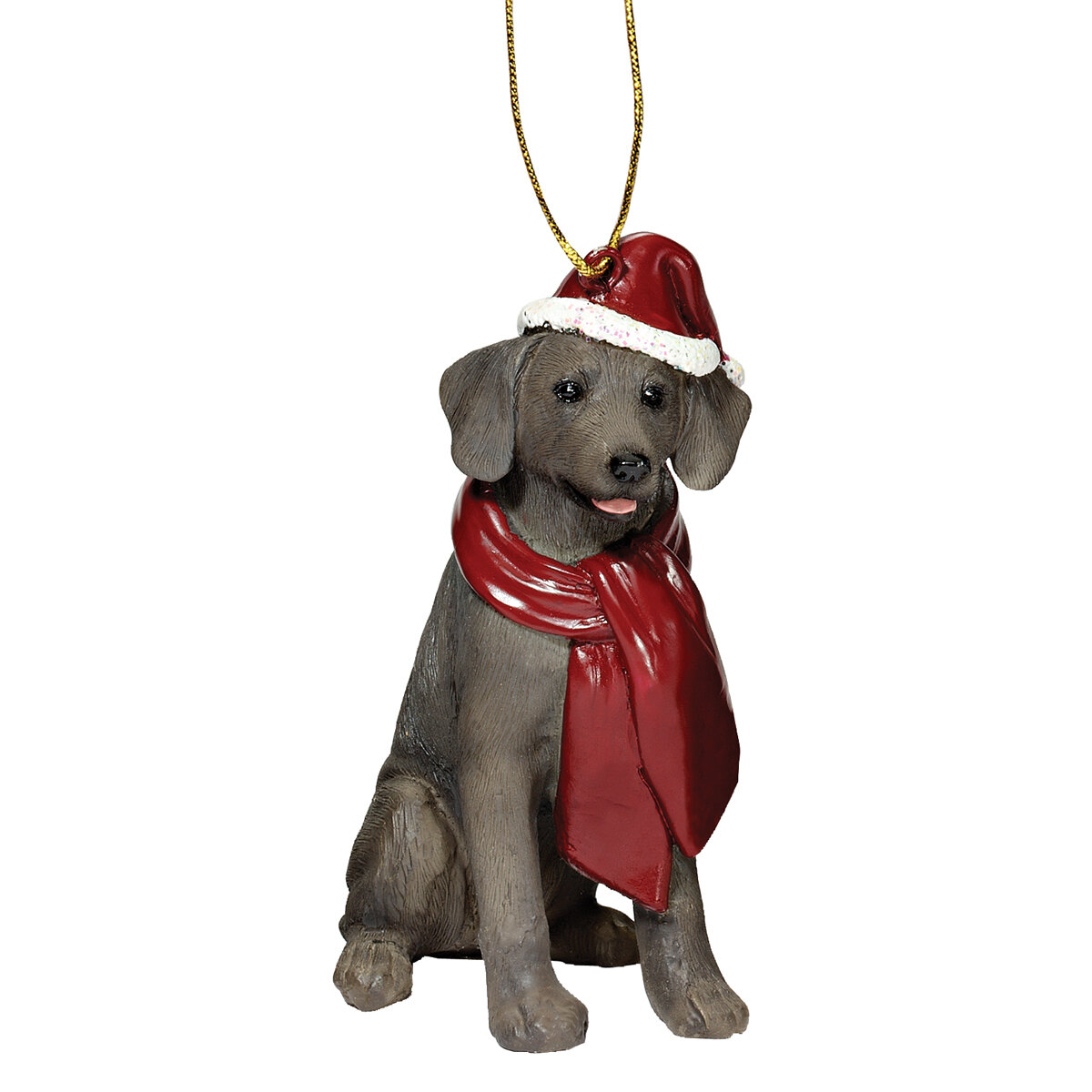 Design Toscano Weimaraner Holiday Dog Ornament Sculpture & Reviews ...