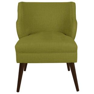 Castilleja Modern Slipper Chair by George Oliver