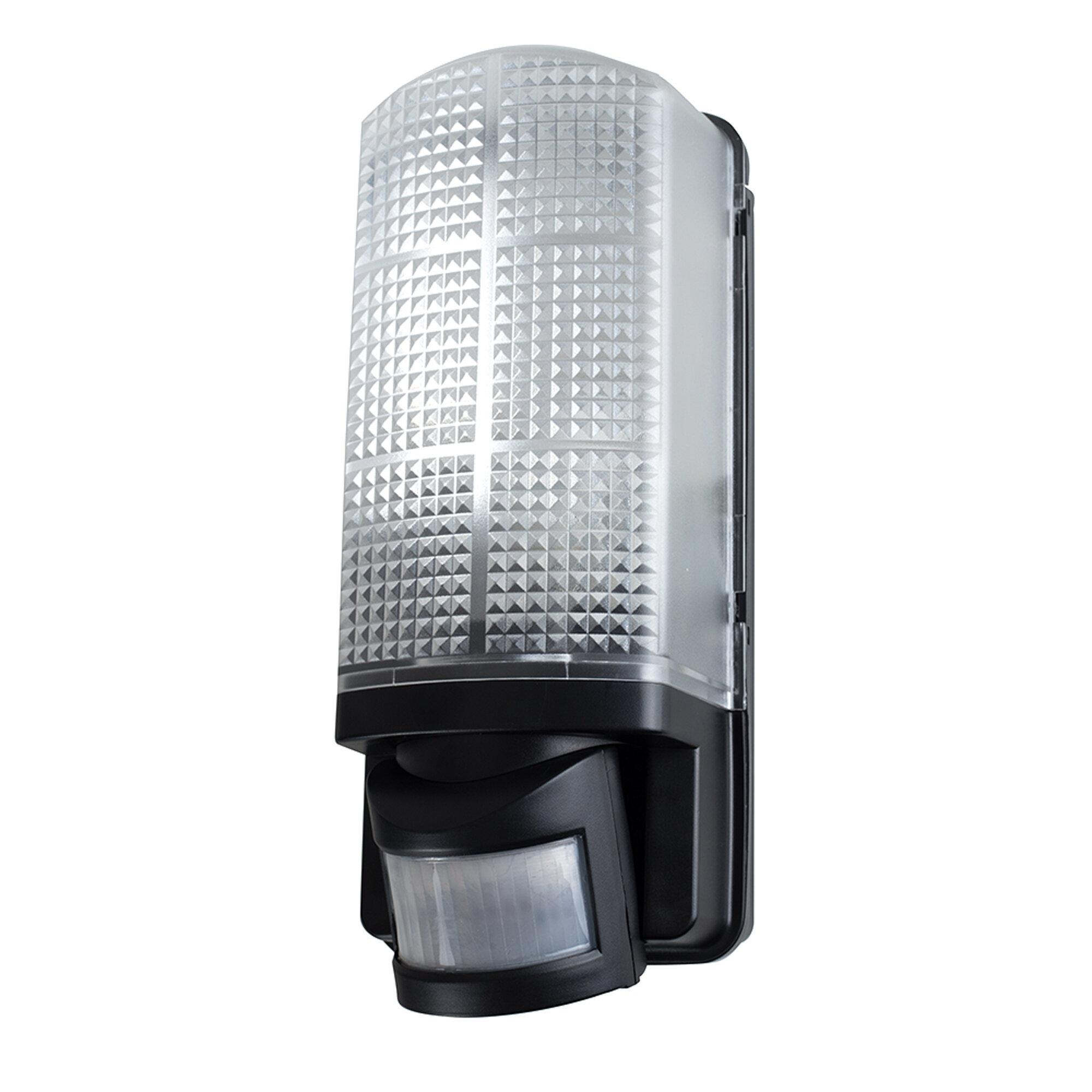 Minisun griffin 1 light outdoor bulkhead light with motion sensor minisun griffin 1 light outdoor bulkhead light with motion sensor wayfair mozeypictures Image collections