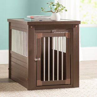 ace pet crate end table - Dog Crate Side Table