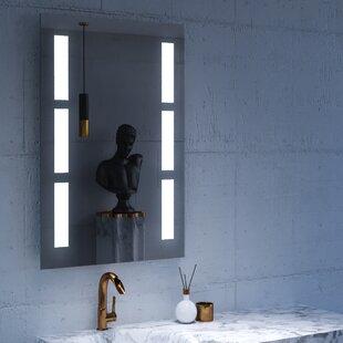 sally led lighted bathroomvanity mirror - Lighted Bathroom Mirror