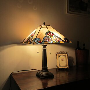 Best Reviews Swayne Victorian 22 Table Lamp By Astoria Grand
