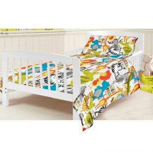 Born Free 2 Piece Cot Bedding Set by HoneyBee Nursery
