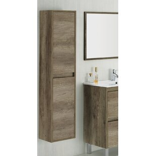 Dakota 30 x 140cm Wall Mounted Tall Bathroom Cabinet  sc 1 st  Wayfair & Mirrored Tall Bathroom Cabinet | Wayfair.co.uk