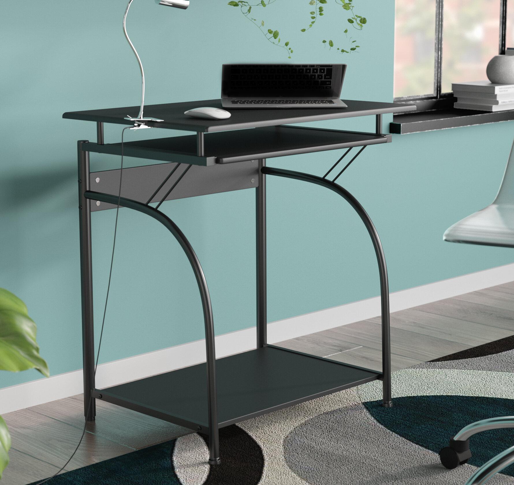 Ebern Designs Decatur Computer Desk & Reviews | Wayfair