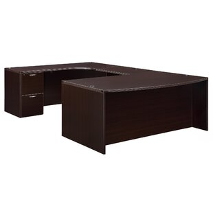 Fairplex Corner Credenza U-Shape Executive Desk