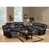 Latrell 3 Piece Reclining  Living Room Set by Red Barrel Studio