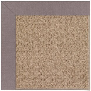 Lisle Machine Tufted Evening/Brown Indoor/Outdoor Area Rug