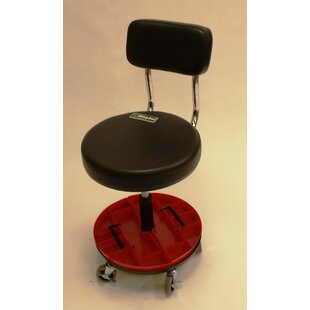 Height Adjustable Tool Trolley With Backrest And Removable Parts Tray by ShopSol Best Design