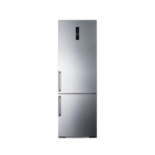 Summit Built-In 11.6 cu. ft. Counter Depth Bottom Freezer Refrigerator by Summit Appliance