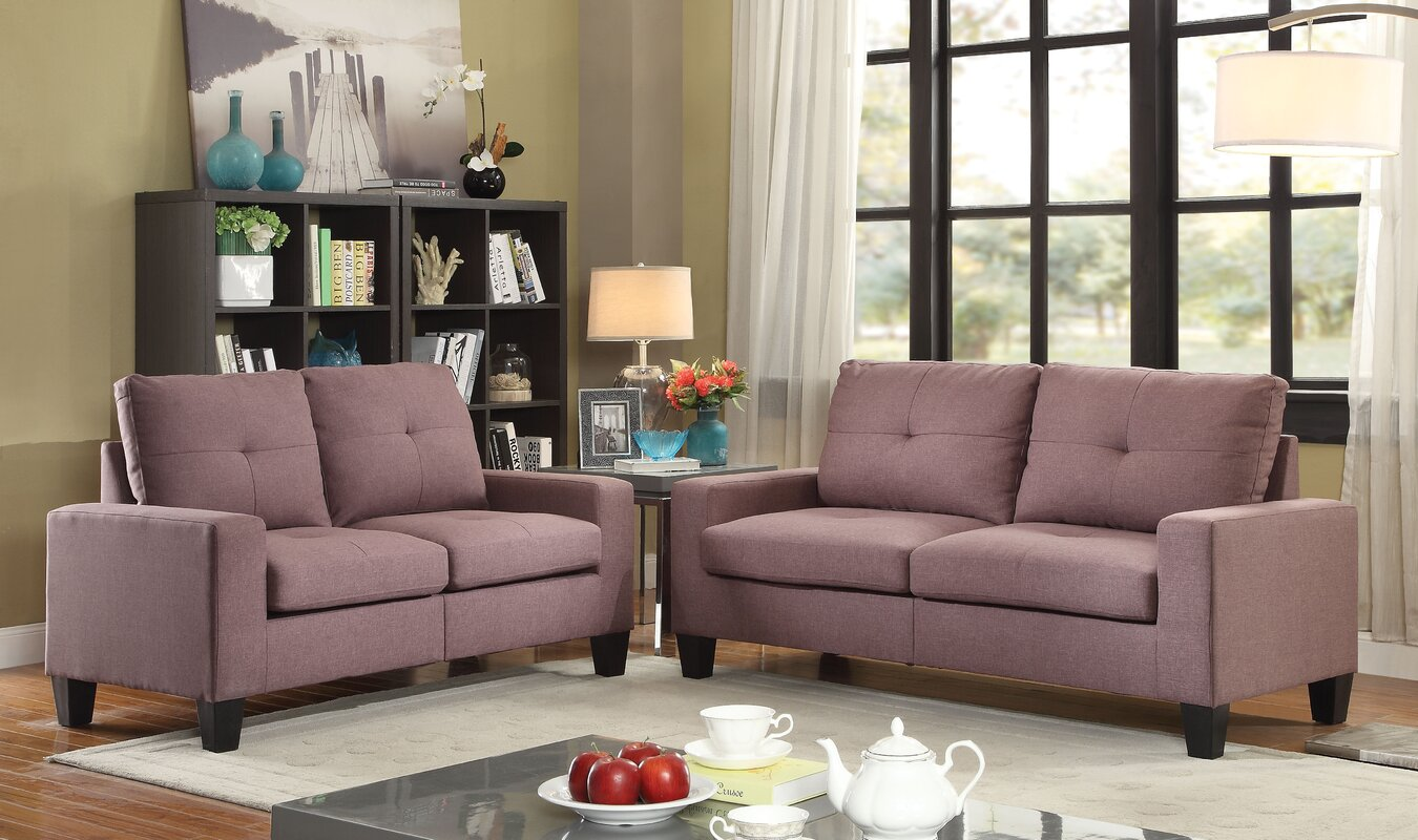 Platinum II 2 Piece Living Room Set Part 83