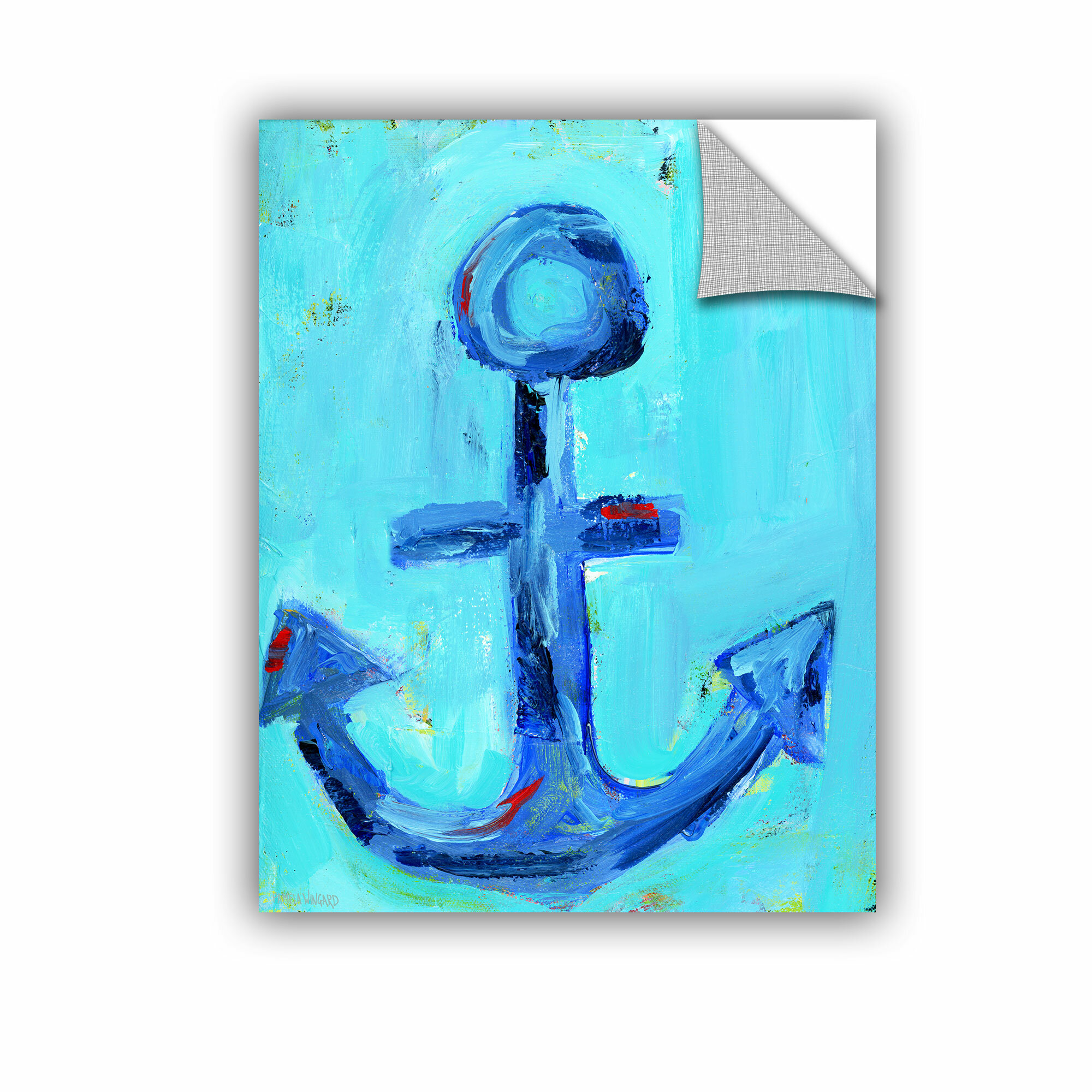 Artwall Nautical Anchor Wall Mural Wayfair