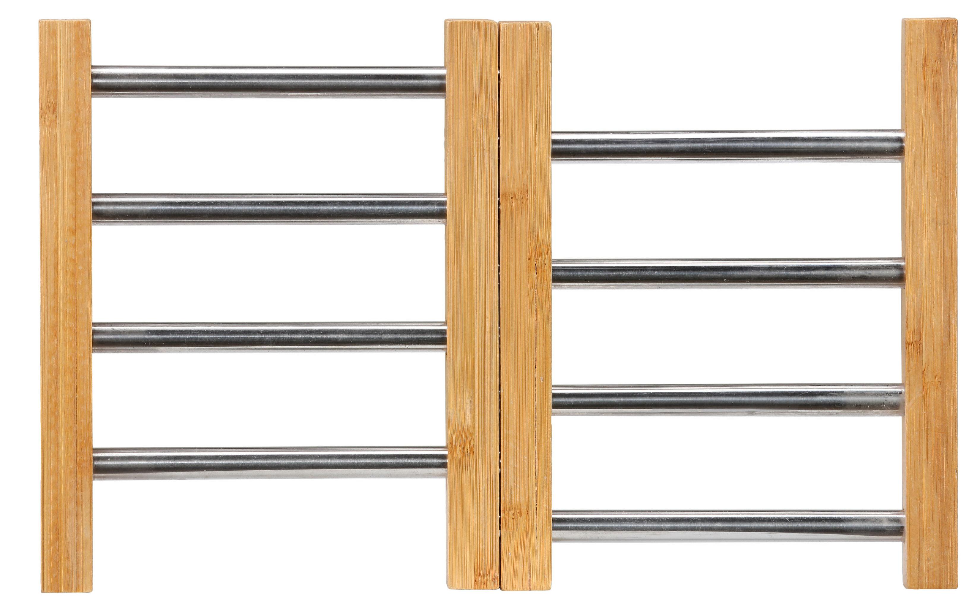 Winston Porter Expandable Bamboo Trivet Wayfair
