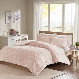 Burkett Embroidered Chevron Ultra Plush Comforter Mini Set