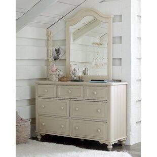 Affordable Price Summerset 7 Drawer Dresser with Mirror ByLC Kids