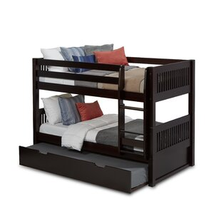 Savings Isabelle Twin over Twin Bunk Bed with Trundle by Viv + Rae Reviews (2019) & Buyer's Guide