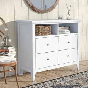 Lignite 4 Drawer Media Chest