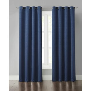 Indigo Blue Blackout Curtains