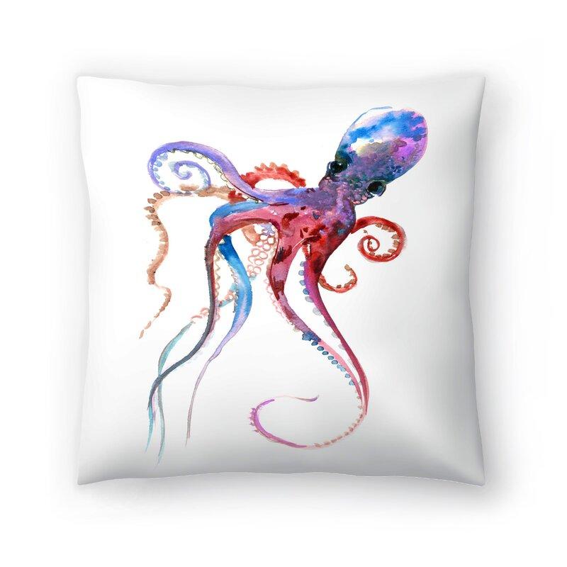 East Urban Home Suren Nersisyan Octopus Throw Pillow Wayfair