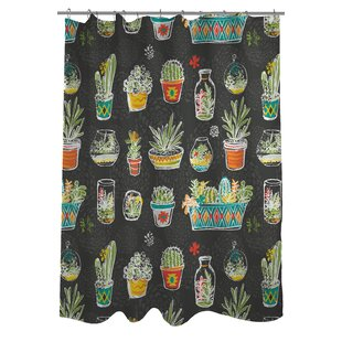 Cacti Single Shower Curtain