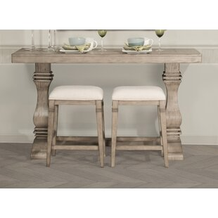 Lea 3 Piece Counter Height Console Table Set